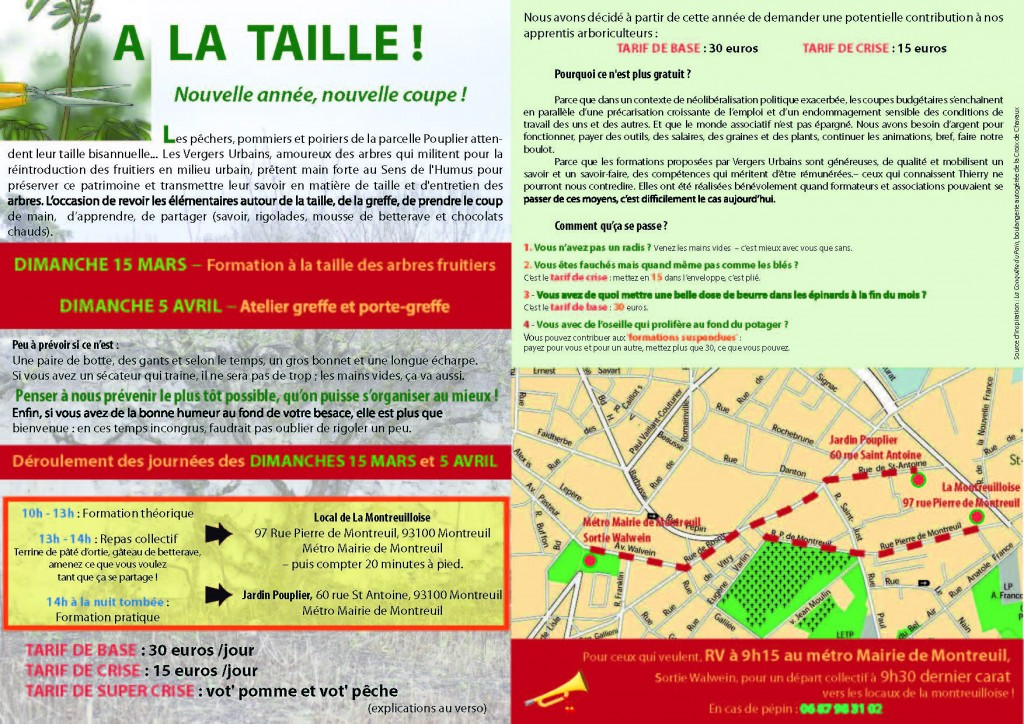 Taille&Greffe, infos